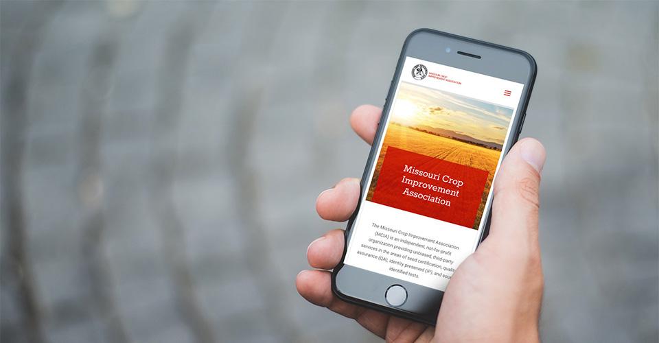 non-profit website design for farming, agriculture, communitiy