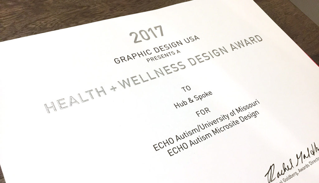 healthcare website design award winners