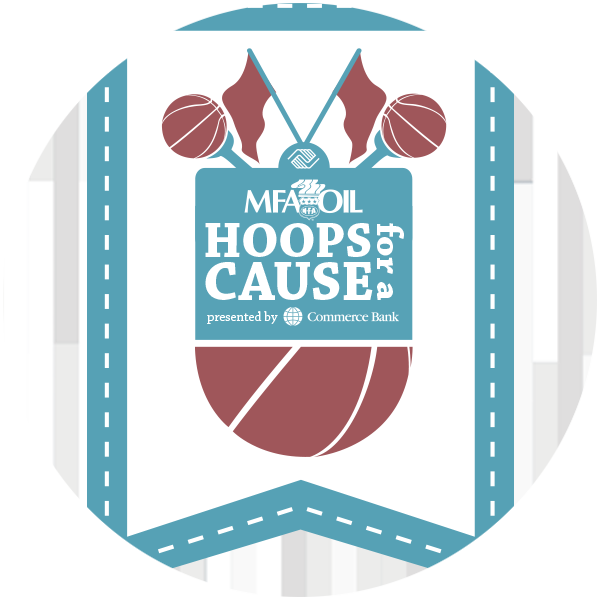 Hoops for a Cause logo