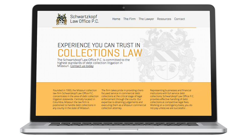 law office and lawyer website design