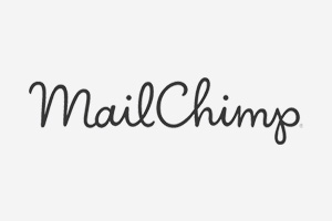 Website design integration with MailChimp